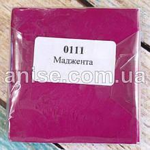 Полимерная глина Пластишка, №0111 маджента, 250 г / Полімерна глина Пластішка , №0111 маджента, 250 г