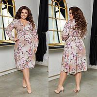 Платье женское романтичное больших размеров