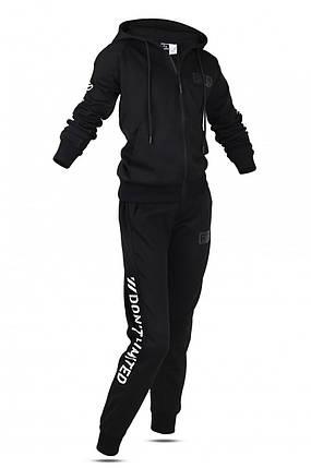 Спортивний костюм дитячий Freever GF 8108 чорний з білим, фото 2