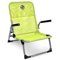 Раскладное кресло с подлокотниками Spokey Bahama 926795 (original) кресло складное, стул раскладной
