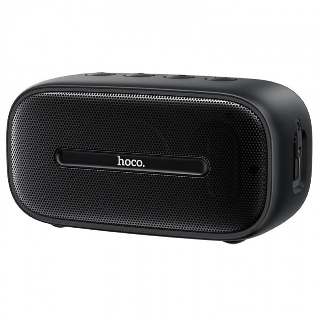 Портативная Bluetooth колонка Hoco BS43 Cool sound водонепроницаемая IPX7 (BT 5.0, AUX, MicroSD) Black