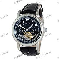 Часы мужские наручные A.Lange & Sohne Glashutte Silver/Black