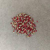 Стразы камушки цвет красный d-2,5(+-)мм уп.\10гр(+-)