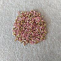 Стразы камушки цвет розовый d-2,5(+-)мм уп.\10гр(+-)