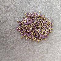 Стразы камушки цвет фиолетовый d-3(+-)мм уп.\10гр.(+-)