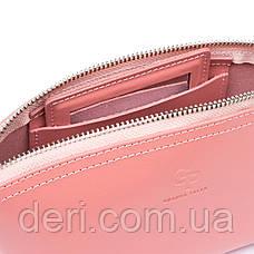 Женская косметичка из кожи Amelin GRANDE PELLE 11299 Пудровая, фото 2
