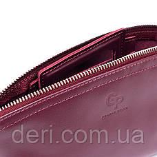 Женская косметичка из кожи Amelin GRANDE PELLE 11300 Сливовая, фото 2
