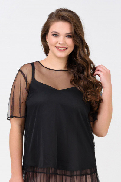 Блуза Evdress XL чорний