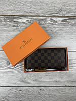Мужской клатч портмане кошелек Louis Vuittom рыж мал/клатч Луи Виттон бумажник
