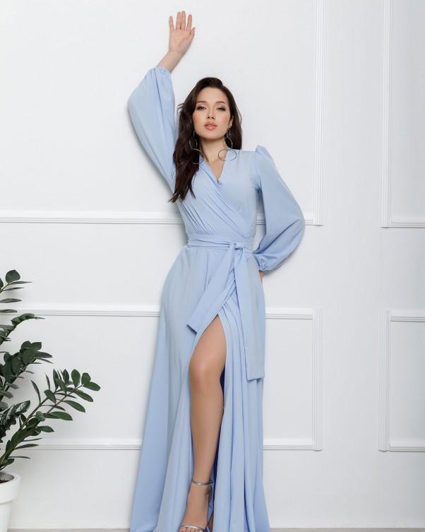 Сукні ISSA PLUS 12615 S блакитний