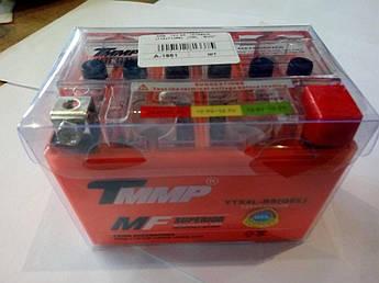 Мото аккумулятор АКБ (Аккумулятор на скутер, мотоцикл, мопед) 12В (V) 4А гелевый (114x71x88) (TM) EVO
