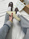 Adidas Yeezy Slide Bone (бежевые), фото 4
