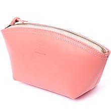 Жіноча сумочка зі шкіри Amelin GRANDE PELLE 11299 Пудрова