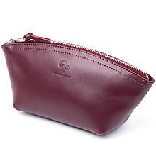 Жіноча сумочка зі шкіри Amelin GRANDE PELLE 11300 Сливова