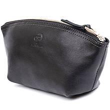 Жіноча сумочка зі шкіри Amelin GRANDE PELLE 11302 Чорна