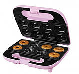 Мультимейкер - вафельница, печенница, пончница SilverCrest 3 в 1 Swew 750 B3 Розовый, фото 2