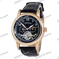 Часы мужские наручные A.Lange & Sohne Glashutte Gold/Black