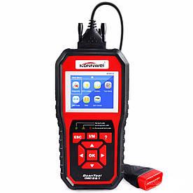 Сканер-адаптер KONNWEI KW850 для діагностики автомобіля OBDII (2788-8573)