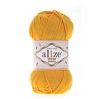 Alize Cotton Gold Hobby (Алізе Котон Голд Хобі) № 02 шафран (Пряжа бавовна, нитки для в'язання)