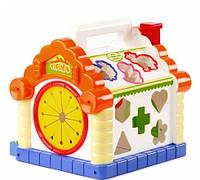 Теремок - музыкальный сортер Joy Toy (Limo Toy) 9196