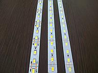 Светодиодная линейка SMD 5630 72 LED IP20 12V 6500K (холодный белый) со скотчем 3М, фото 1