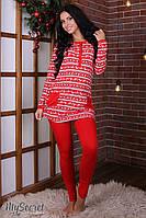 Пижама Lovely для беременных и кормления , фото 1