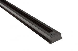 Шинопровід для трекових світильників чорний 2 метри Z-LIGHT ZL 40042T 2m Black трапеція