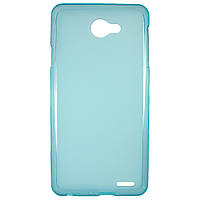 Чехол Colored Silicone для Fly IQ4403 Energie 3 Blue