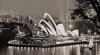 Репродукция на холсте, Оперный театр в Сиднее