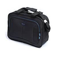 Горизонтальная сумка из полиэстера Mv-bags черного цвета, фото 1