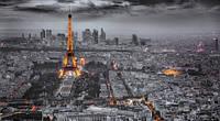 Репродукция на холсте, Вечерний Париж