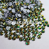 Термо стрази Lux ss20 Emerald AB (5.0 mm) 1440шт