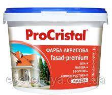Фасадная акриловая краска с воском Премиум ИР-132 ПроКристал, Ирком