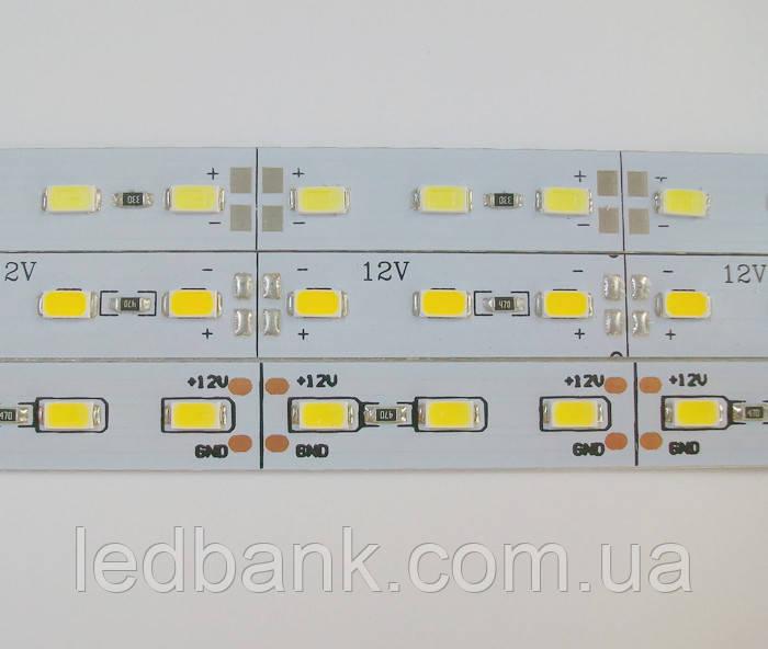 Светодиодная линейка 5630 72 LED IP20 12В 4500K (нейтральный белый) со скотчем 3М