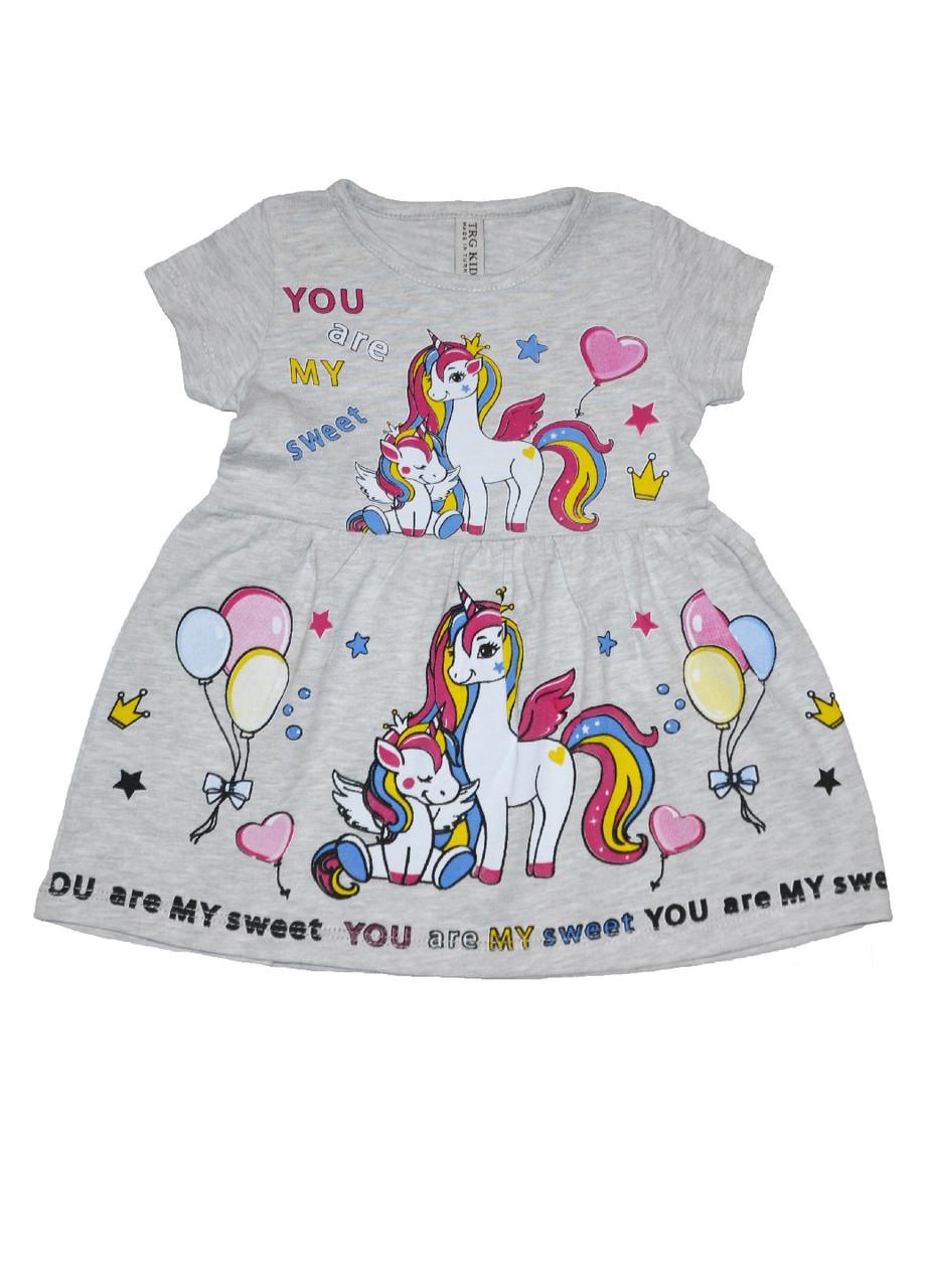 Платье детское девочке летнее Мой маленький пони