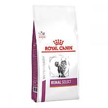 Сухий лікувальний корм для кішок Royal Canin Renal Select крокети подвійний текстури 500 г