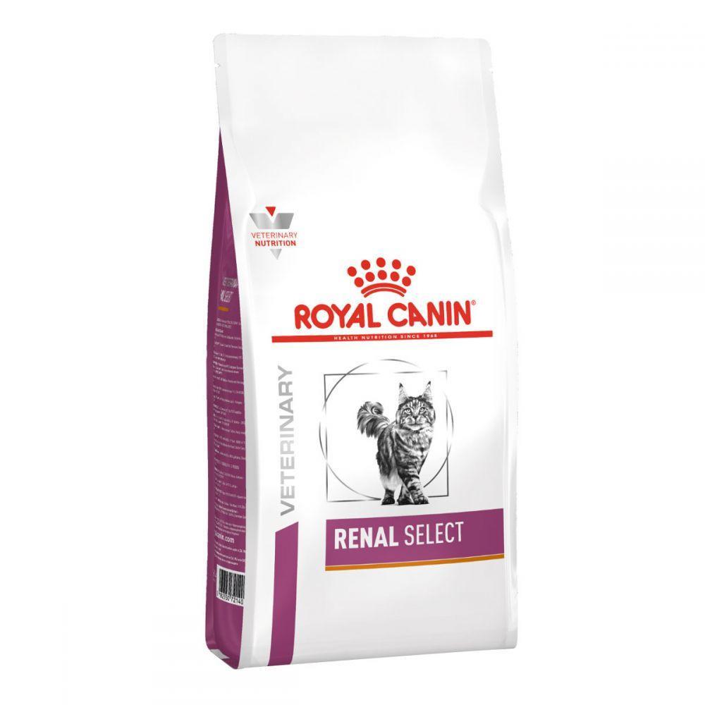 Сухой лечебный корм для кошек Royal Canin Renal Select крокеты двойной текстуры 2 кг