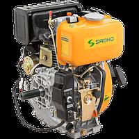 Двигатель дизельный Sadko DE-300E (6 л.с., под шпонку, стартер)