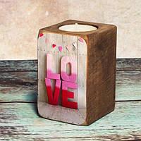 Подсвечник Love
