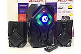 Акустична система з сабвуфером Ailiang DC628С 2.1 (USB/Bluetooth/FM-радіо), фото 2