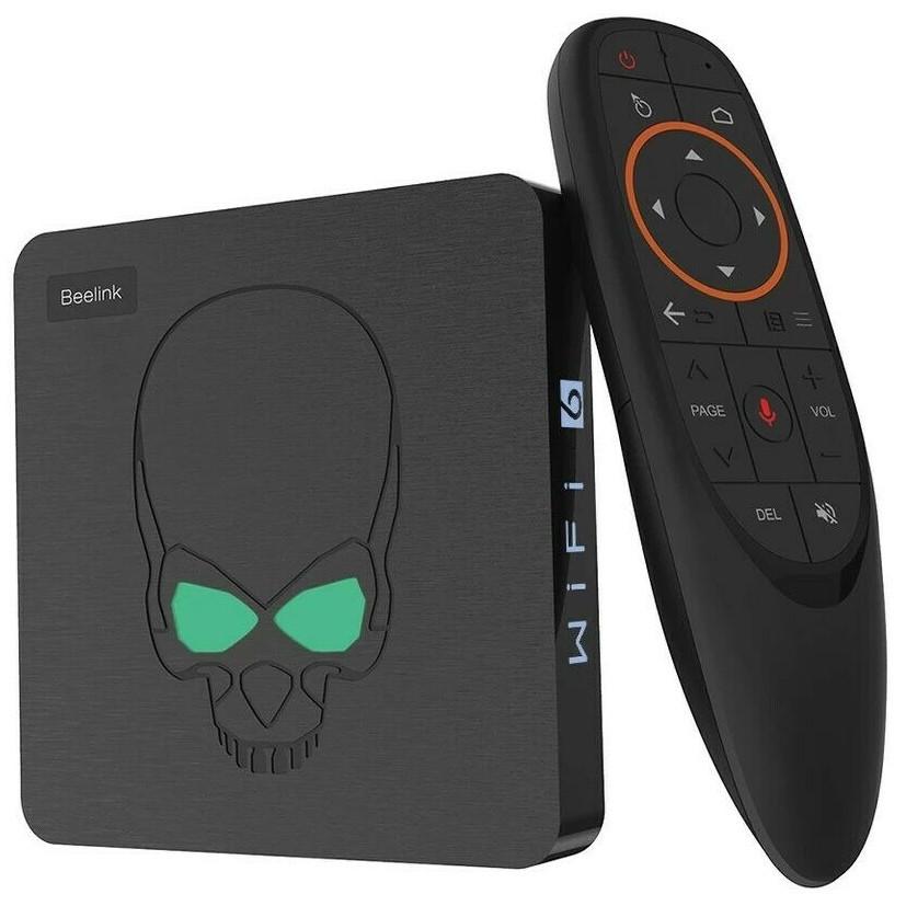 Beelink GT-King 4/64, Amlogic S922X, WIFI 6, Android 9, Смарт ТВ Приставка, Smart TV Box (+ налаштування)