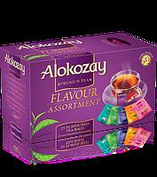 Чай Alokozay черный ассорти 25 пакетиков