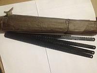 Полотна ножовочные по металлу черное ( пачка 100 шт )