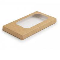 Коробка для плитки шоколаду 18х10х1,8 див. (крафт)