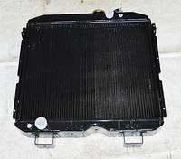 Радиатор охлаждения водяной Паз 3205 медный (4 рядный) (Газ 66)