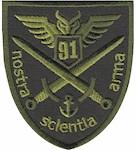 Шеврон 91 командно-розвідувальний центр ОК Південь