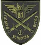 Шеврон 91 командно-розвідувальний центр ОК Південь, фото 2