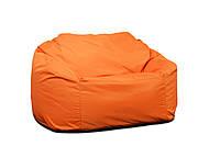 Диван Таблетка Оксфорд XL (160х100х100 см), Оранжевый, Оранжевый