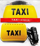 Знак такси с подсветкой на торпеду автомобиля, магнитный