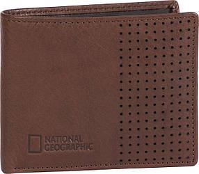 Портмоне шкіряне National Geographic N147501;33 коричневий